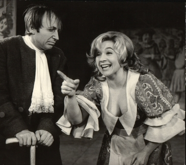 Iubirea secreta a lui Gheorghe Dinica! Marele actor si superba Vasilica Tastaman au trait o emotionanta poveste de dragoste!