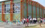 Nici una dintre cele 400 de sali de sport realizate de guvernul Adrian Nastase nu are dimensiunile regulamentare pentru handbal!