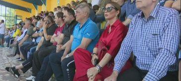 Anamaria Prodan, aparitie soc pe terenul de fotbal
