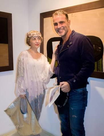 """""""Faimosul"""" Oltin de la Exatlon s-a intalnit la o expozitie cu fosta iubita a lui Grigore Lese!"""