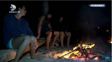 """Ce facea Ionut """"Jaguarul"""" in timp ce colegii sai se aflau pe plaja, la foc? Camerele de supraveghere au surprins totul. Oare sotia sa a observat acest detaliu?"""