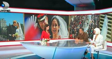 VIDEO: Editie speciala Stirile Kanal D. Urmariti o analiza la cald a tinutelor de la nunta regala