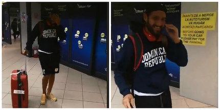 Catalin Cazacu a ajuns in Romania! Giani Kirita, Diana Belbita si Larisa l-au asteptat la aeroport