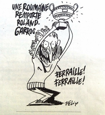 "Cele mai tari recenzii pe pagina Charlie Hebdo, dupa ironia la adresa Simonei Halep! ""Am pus deja ochii pe Tour Eiffel"""