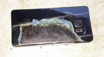 Galaxy Note 7 face prima victima: un baietel de sase ani a suferit arsuri pe mai multe zone ale corpului, dupa ce telefonul i-a explodat in mana