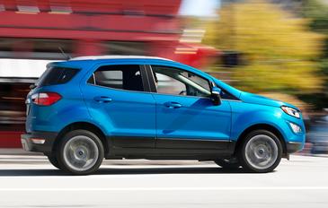 Ford Ecosport, SUV-ul care se produce si la Craiova. Cum arata si ce dotari are