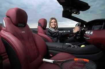 """Simona Halep conduce o noua masina de peste 500 CP: """"Sunt foarte incantata"""""""