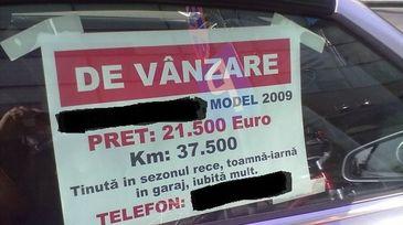 Vesti proaste pentru cei care vor sa isi vanda masinile! O noua taxa incepand cu 1 ianuarie