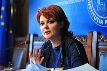 Ministrul Muncii, Lia Olguta Vasilescu: De la 1 iulie se vor majora primele salarii. Salariul minim va creste cu 100 de lei in fiecare an