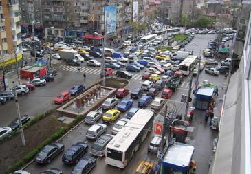 Bucuresti, orasul cu cel mai aglomerat trafic din Europa