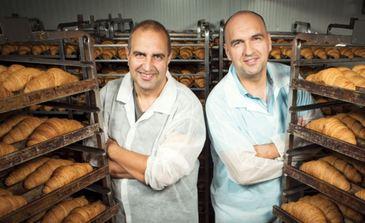 Doi frati din Galati vand croissante de milioane de euro in toata Europa