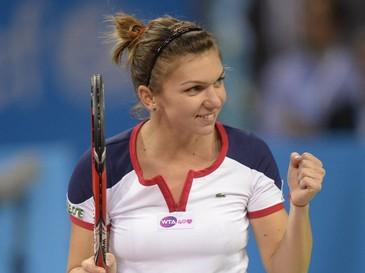Simona Halep s-a calificat in sferturile de finala ale Miami Open, dupa un meci spectaculos