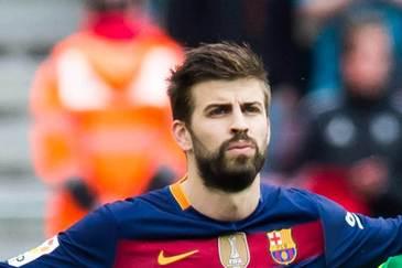 Gerard Pique a fost internat din cauza unui virus stomacal si rateaza meciul cu Las Palmas, din La Liga