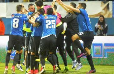 FC Viitorul invinge CFR Cluj, scor 1-0, si, conform LPF, este noua campioana a Romaniei