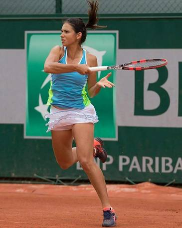 Wimbledon: Raluca Olaru s-a calificat in turul doi al probei de dublu mixt