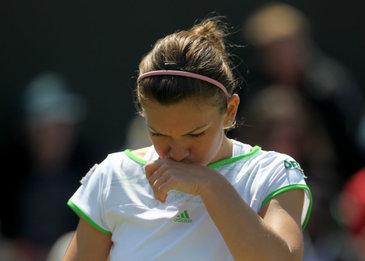 Halep a fost invinsa de Konta, a ratat calificarea in semifinale la Wimbledon si sansa de a deveni numarul 1 mondial
