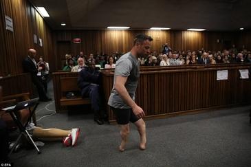 Pistorius, batut in inchisoare! Cum se simte fostul atlet paralimpic