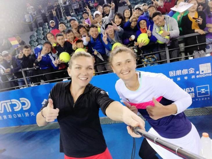 Simona Halep si Irina Begu au castigat finala la dublu de la Shenzen, impotriva tenismenelor Siniakova şi Krejcikova