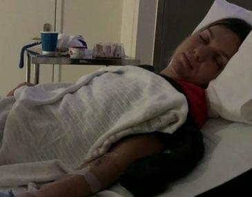 Simona Halep a fost spitalizata pentru cateva ore dupa finala Australian Open