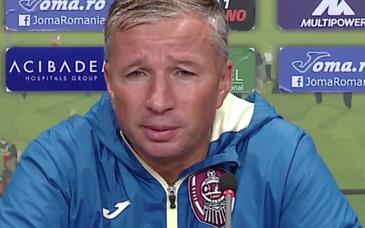 """Soc pentru Dan Petrescu! Antrenorul lui CFR Cluj, atacat dur de fanii echipei ! """"Poti sa pleci""""!"""