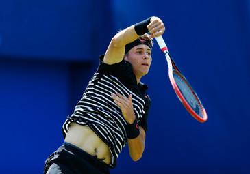 Scandal la turneul de tenis de la Monte Carlo! Un jucator american s-a certat 5 minute cu arbitrul