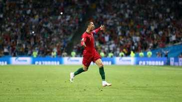 Meci spectaculos, cu sase goluri, intre Spania si Portugalia. Cristiano Ronaldo a marcat de trei ori