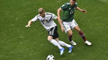 SOC la Campionatul Mondial: Germania, campioana mondiala en-titre, invinsa de Mexic cu scorul de 1-0