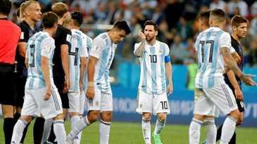 Campionatul Mondial de fotbal 2018. Cutremur dupa Argentina - Croatia 0-3! Sud-americanii vor sa schimbe antrenorul in timpul turneului!