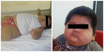 Desi nu pare, este doar un bebelus de cateva luni. Manuel sufera de o boala rara, iar parintii se tem pentru viata lui