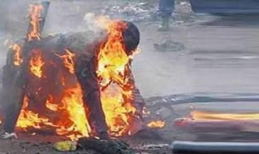 Cruzime de nedescris in Suceava! Un barbat si-a stropit tatal cu benzina, apoi i-a dat foc