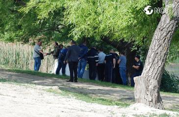 Descoperire terifianta in Capitala! Cadavrul unei tinere a fost gasit intr-o geanta abandonata pe marginea unui lac