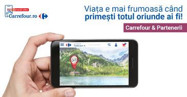Carrefour România lansează portalul unic carrefour.ro:  magazin online, marketplace, marci proprii - TEX, oportunitati de cariera si initiative corporate