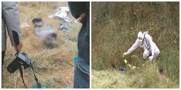 Triplu asasinat infiorator petrecut pe camp! Trupurile a trei barbati dezbracati si legati cu sfoara au fost gasite de catre localnici in aceasta dimineata