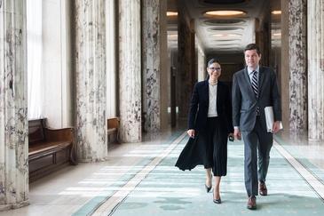 Ana Birchall si Wess Mitchell au co-prezidat Reuniunea Dialogului Strategic Romania – SUA. Intalnirea a avut loc la Palatul Victoria