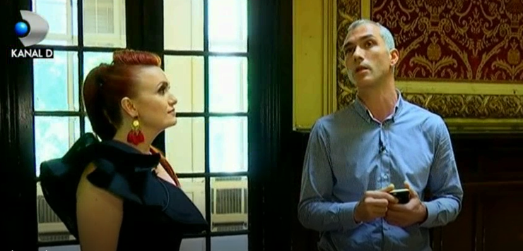 """Dana Lutu va prezinta singurul palat de vanzare din Bucuresti, in rubrica """"Casa de vedeta""""!"""
