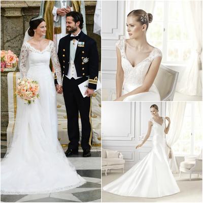 Rochia din dantela, alegerea printeselor pentru nuntile regale!