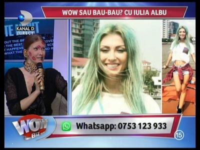 """VIDEO Iulia Albu i-a dat trofeul WOW Lorei! """"Imi place mult""""- Pe Claudia Patrascanu nici nu a vrut sa o vada: """"E irelevanta, hai sa trecem peste"""""""