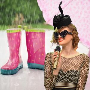 VIDEO EXCLUSIV | Iulia Albu - WOW sau BAU-BAU: Cum sa te imbraci pe timp de ploaie!