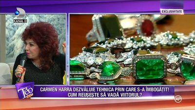 Carmen Harra are bijuterii de mii de euro! Uite cum arata si ce semnificatie au!