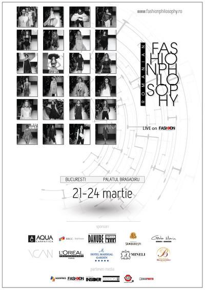Romanian Fashion Philosophy AW17/18 - a doua editie, 21-24 martie 2017, Palatul Bragadiru Bucuresti