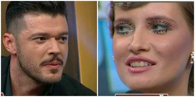 """Cum a reactionat Iulia Albu cand l-a vazut pe Victor Slav in platou la WOWbiz? """"Cine ti-a pus salata asta in buzunar?"""""""