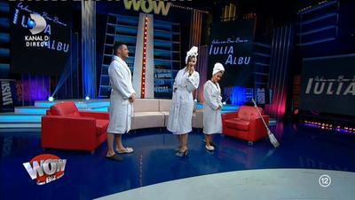 """Iulia Albu, aparitie de senzatie in platoul """"Wowbiz""""! Ce note le-a dat vedetelor din showbiz!"""
