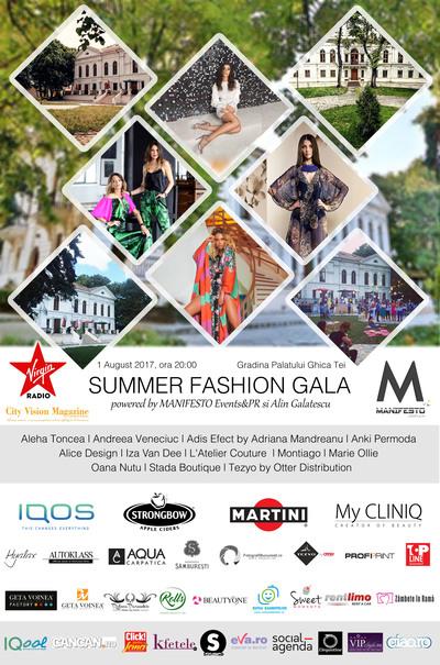 Summer Fashion Gala @ Gradina Palatului Ghica Tei