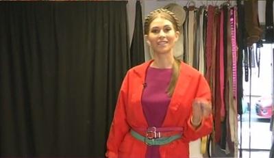 Cristina Mihaela poartă haine la mâna a doua! Iată cum poţi crea o ţinută de la second hand!
