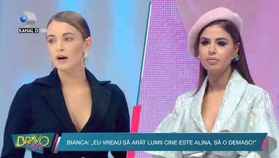 """Bianca si iubitul ei au venit in platoul """"Bravo, ai stil!"""" pentru a spune adevarul despre Alina!"""
