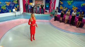 Bianca Dragusanu, aparitie de senzatie in direct: rosie ca focul din cap pana in picioare! Cum a venit astazi imbracata in emisiune