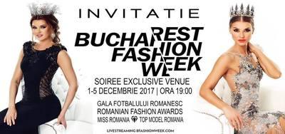 Incepe Bucharest Fashion Week!