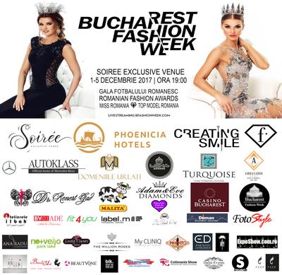 Peste 40 de designeri vor fi prezenţi la cea de-a 28 a ediţie a Bucharest Fashion Week