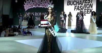 Noua Miss Romania este toba de carte! Eleva Alina Rugina a absolvit gimnaziul cu media 10 si a fost olimpica la biologie