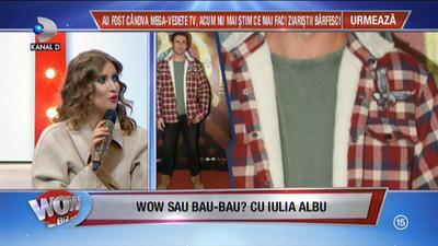 """WOW sau BAU?! Iulia Albu a dat verdictul: """"Este o ţinută dezastruoasă! Va primi trofeul BAU!"""" Cine a reuşit să o impresioneze pe jurata de la """"Bravo, ai stil!"""""""